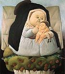 Madonna and Child 1965 - Fernando Botero