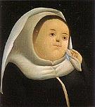 Mother Superior 1966 - Fernando Botero