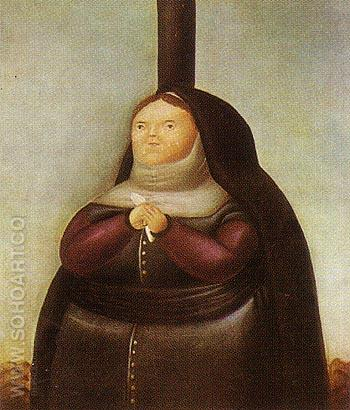 La Dolorosa 1967 - Fernando Botero reproduction oil painting