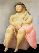 Ecce Homo 1967 - Fernando Botero reproduction oil painting