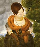 The First Lady 1969 - Fernando Botero reproduction oil painting