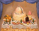 Bon Anniversaire 1971 - Fernando Botero reproduction oil painting