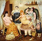 The House of Mariduque 1970 - Fernando Botero reproduction oil painting