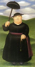 Walk in the Hills 1977 - Fernando Botero reproduction oil painting