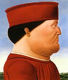 Federico da Montefeltro - Fernando Botero reproduction oil painting