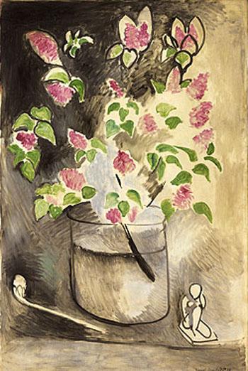 Lilacs, 1914 - Henri Matisse reproduction oil painting