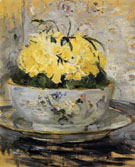 Daffodils 1885 - Berthe Morisot reproduction oil painting
