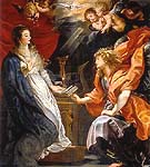 Annunciation 1609 - Ruebens reproduction oil painting