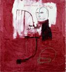 Deaf 1984 - Jean-Michel-Basquiat