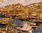 The Forest of Masts Genoa 1904 - Alson Skinner Clark