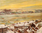 Grey and Gold 1906 - Alson Skinner Clark reproduction oil painting