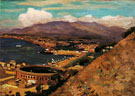 The Rising Sun Malaga 1909 - Alson Skinner Clark reproduction oil painting