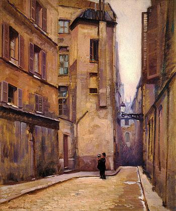 Paris 1910 - Alson Skinner Clark reproduction oil painting