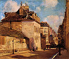 Rue St Jacques 1912 - Alson Skinner Clark reproduction oil painting