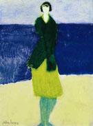Walker by the Sea 1961 - Milton Avery
