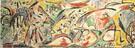 Water Bull c1946 - Jackson Pollock