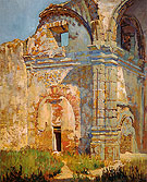 Ruins of San juan Capistrano 1919 - Alson Skinner Clark reproduction oil painting