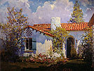 The Artists Cottage 1925 - Alson Skinner Clark reproduction oil painting