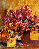 Floral Still Life 1925 - Alson Skinner Clark reproduction oil painting