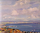San Diego Bay 1925 - Alson Skinner Clark reproduction oil painting