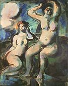Bathers 1903 - George Rouault reproduction oil painting
