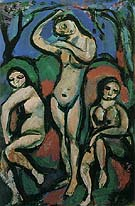Nudes 1914 - George Rouault reproduction oil painting