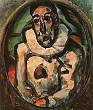 White Pierrot 1911 - George Rouault reproduction oil painting