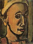 Songe Creux Dreamer 1946 - George Rouault reproduction oil painting