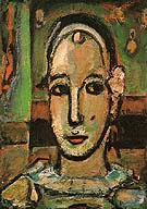 Pierrot 1948 - George Rouault reproduction oil painting
