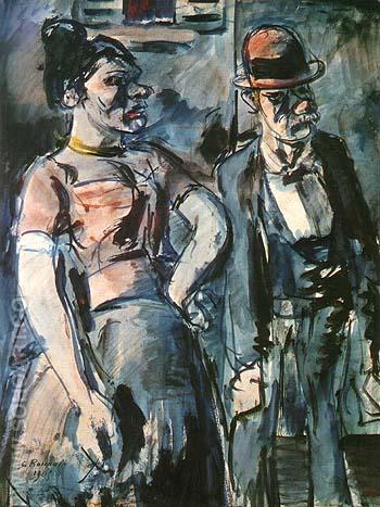 The Poulots 1905 - George Rouault reproduction oil painting