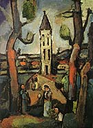 Landscape with Large Trees 1915 - George Rouault