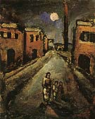 Christ in the Suburbs 1920 - George Rouault