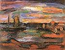 Twilight The Seashore 1939 - George Rouault