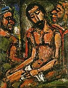 Christ Mocked by Soldiers 1932 - George Rouault