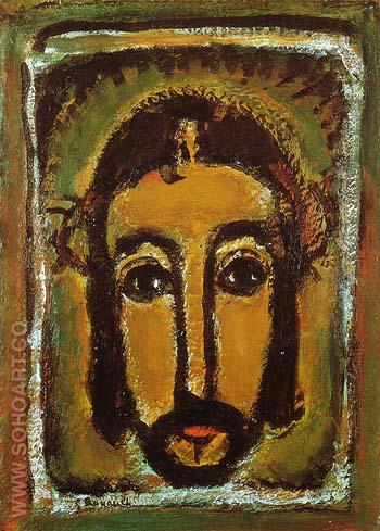 The Holy Countenance 1946 - George Rouault reproduction oil painting