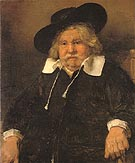Portrait of an Old Man 1667 - Rembrandt Van Rijn reproduction oil painting