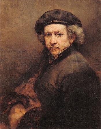 Rembrandt Self Portrait 1659 - Rembrandt Van Rijn reproduction oil painting