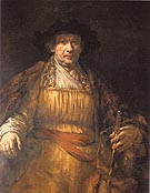 Rembrandt Self Portrait 1659 - Rembrandt Van Rijn reproduction oil painting