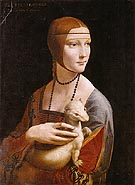 Portrait of Cecilia Gallerani Lady with an Ermine - Leonardo da Vinci