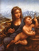 Madonna of the Yarnwinder 1501 - Leonardo da Vinci