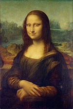 Mona Lisa Portrait of Lisa Gherardini wife of Francesco del Giocondo - Leonardo da Vinci