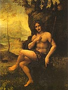 John the Baptist - Leonardo da Vinci reproduction oil painting