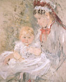 Julie with Her Nuirse - Berthe Morisot