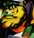 Tiger - Franz Marc reproduction oil painting