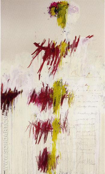 Primavera - Cy Twombly reproduction oil painting