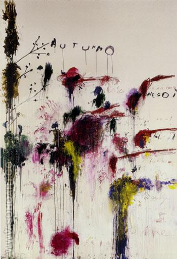 Autumno - Cy Twombly reproduction oil painting