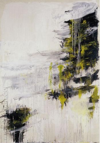 INVERNO - Cy Twombly reproduction oil painting