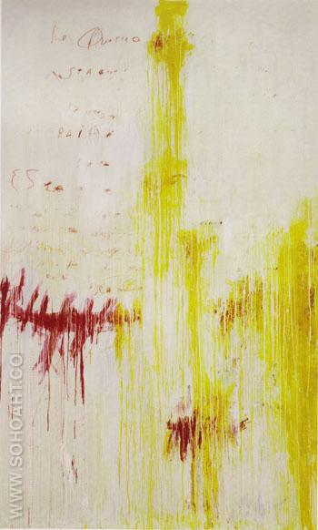 Four Seasons Summer - Cy Twombly reproduction oil painting