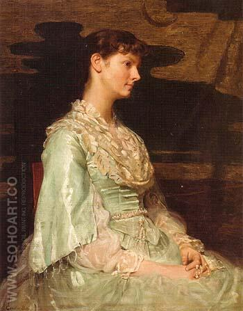 Ethel Page as Undine 1885 - Cecilia Beaux reproduction oil painting