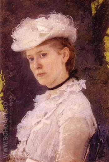 Lady Darwin Maud DuPuy 1889 - Cecilia Beaux reproduction oil painting
